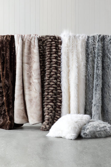 Zambezi Faux Fur Throw from Ezibuy $139.99