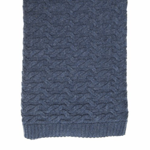 Isaac Merino Cable Blanket from Collected $149.00
