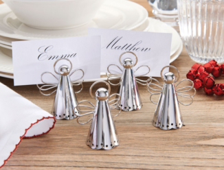 Traditional Angel Place Card Holders from Bed, Bath & Table $19.95