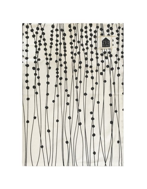 String of Pearls Tea Towel from Superette $15.00
