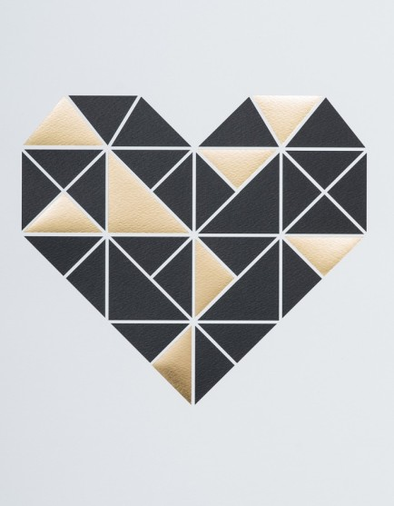 Geo Heart from Superette $45.00