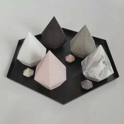 Concrete Diamonds from Created Homewares $23 each