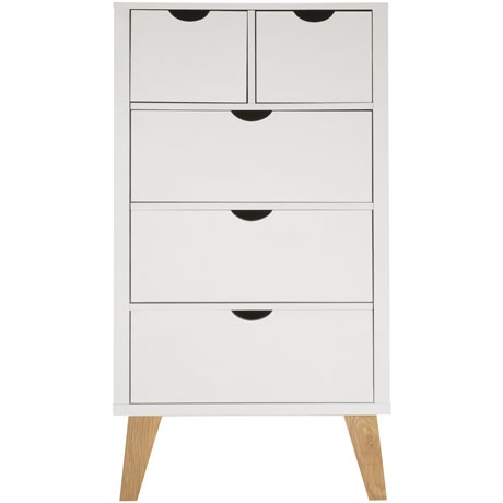 Frieda 5 Drawer Tallboy from Freedom Furniture $799.00