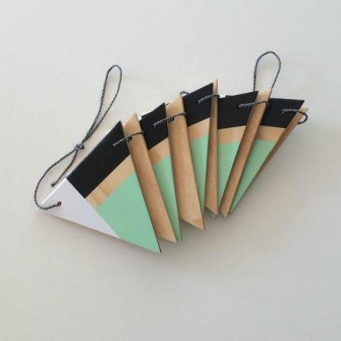 Plywood Bunting from Created Homewares $49.95