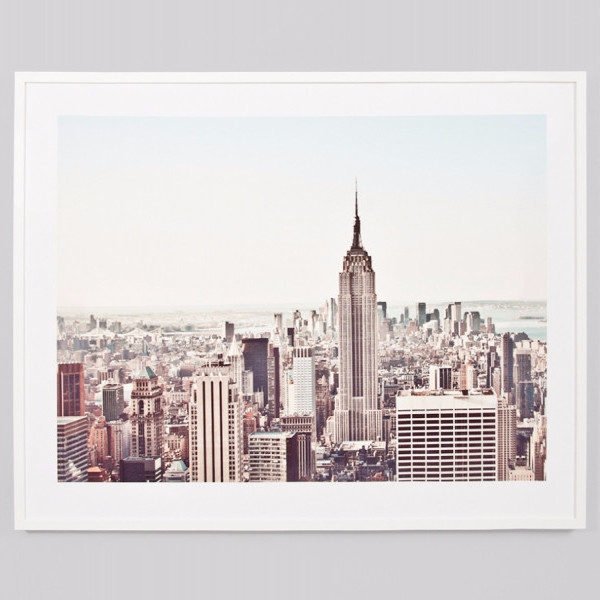 Framed Print New York from ShutTheFrontDoor $429.00