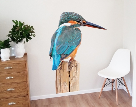 Geometric Kingfisher $80.00-$130.00