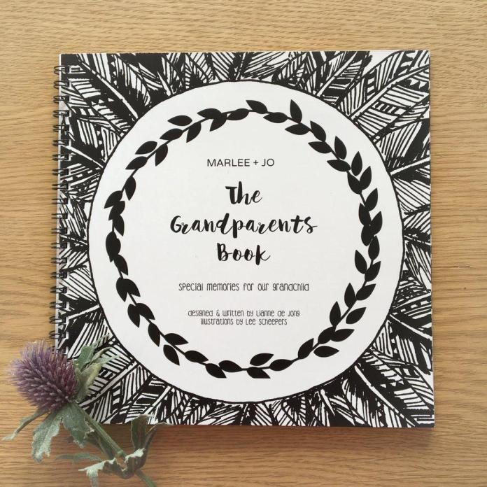 Marlee + Jo The Grandparents Book $49.99NZD