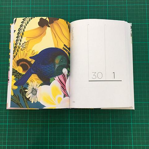 2018 Flox Diary A5 Hardback $39.99NZD