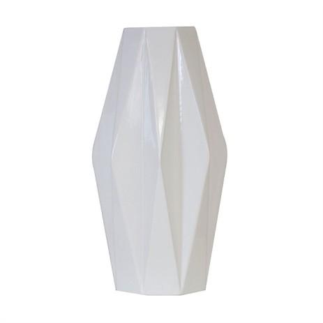 folded vase - white $79.99