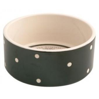 mason-cash-black-dot-dog-bowl-180mm-a146872